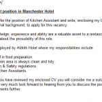 kitchen assistant cover letter example pictures to pin on pinterest