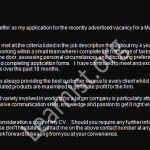 mortgage advisor job application cover letter example