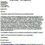 civil servant cover letter example