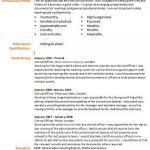 clerical officer cv example