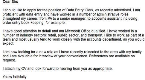 sample resume for data entry operator data entry resume ...