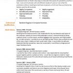 it support engineer cv example