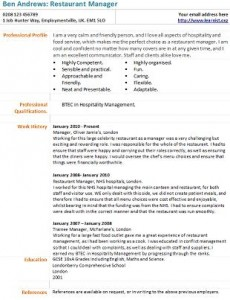 restaurant manager resume sample restaurant assistant manager resumes for restaurant managers best resume gallery