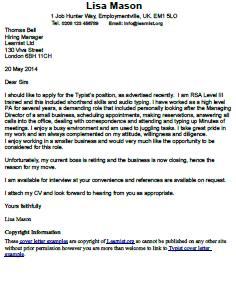 medical interpreter cover letter
