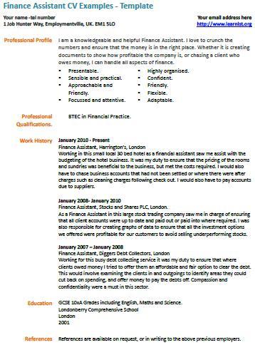 Job application letter for nursing assistant