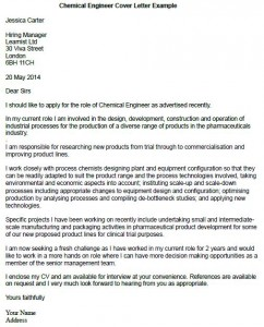 chemical engineer cover letter example learnistorg - Cover Letters Engineering