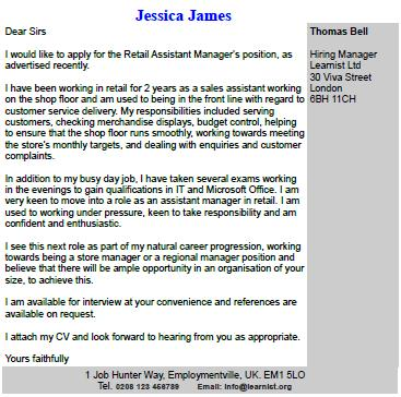Free cover letter template | reed co uk