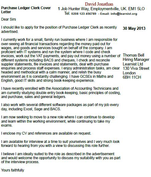 Cover Letter For A Purchase Order Purchase Order Letter