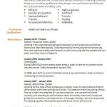 career break cv example