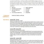 career change cv example