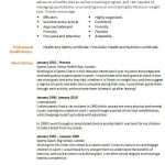 long term unemployed cv example template