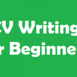 cv writing for beginners
