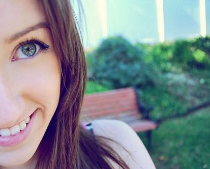 happy girl