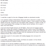 baggage handler cover letter - Learnist.org