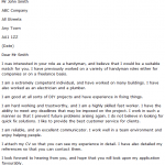 handyman cover letter example