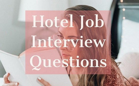 hotel job interview questions