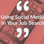 using social media for jobs
