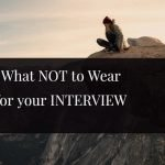 what not to wear for interview